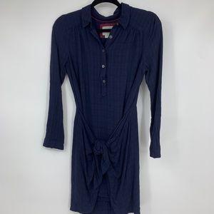 Maeve Dress 4 Bloomsbury Tie Front Shirt Anthro